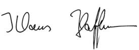 Unterschrift K Hoffmann