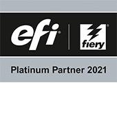 EFI Platinum sign
